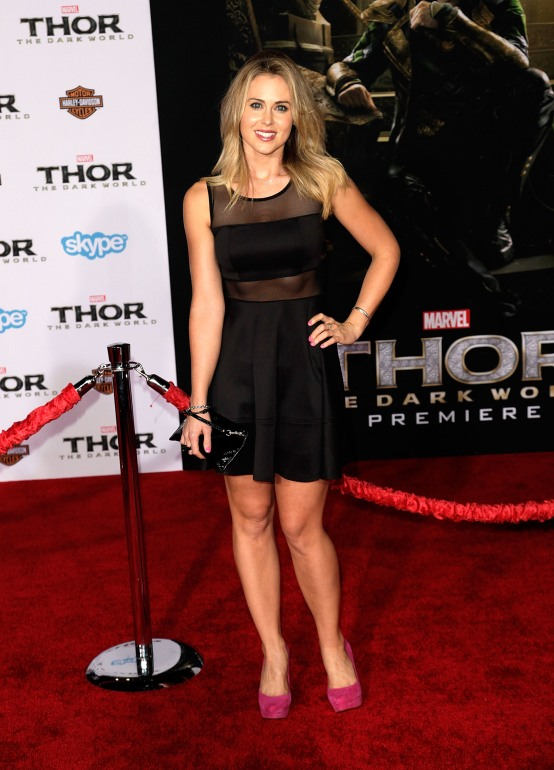Celebrities attend THOR: THE DARK WORLD Premiere at El Capitan Theatre. Featuring: Anna Hutchison Where: Los Angeles, CA, United States When: 05 Nov 2013 Credit: Brian To/WENN.com
