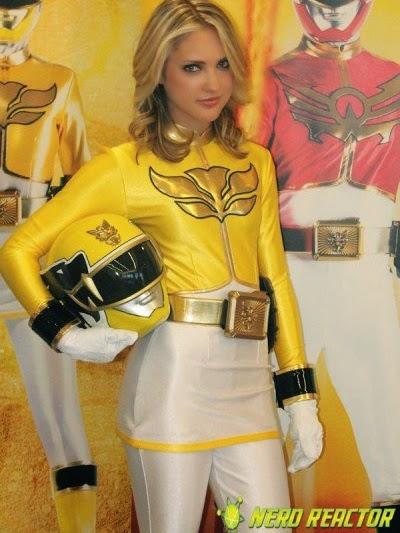 Gia Moran-Yellow Ranger