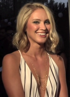 Ciara Hanna smiles