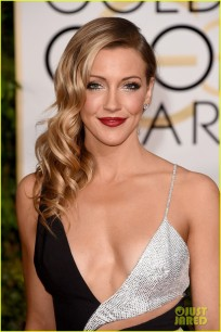 BEVERLY HILLS, CA - JANUARY 11: Actress Katie Cassidy attends the 72nd Annual Golden Globe Awards at The Beverly Hilton Hotel on January 11, 2015 in Beverly Hills, California. (Photo by Jason Merritt/Getty Images)