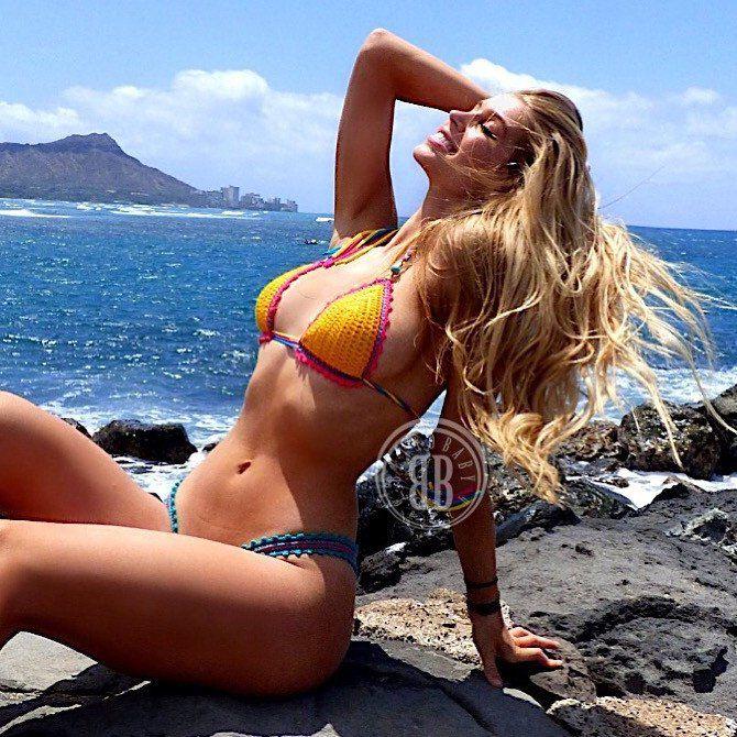 alexandria deberry bikini rock