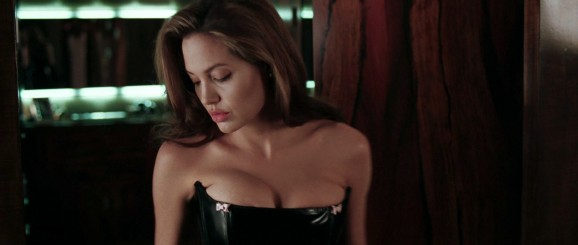 Angelina Jolie cleavage
