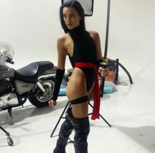 Joanie Brosas ninja cosplay