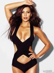 Kim Kardashian Sexy Black