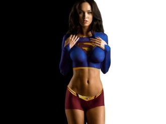 Megan Fox Super Girl