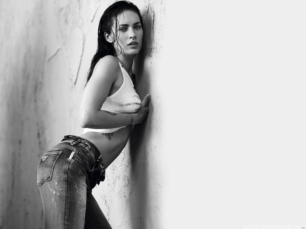 megan fox wall