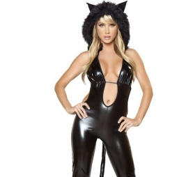 Sara Jean Underwood Black Cat