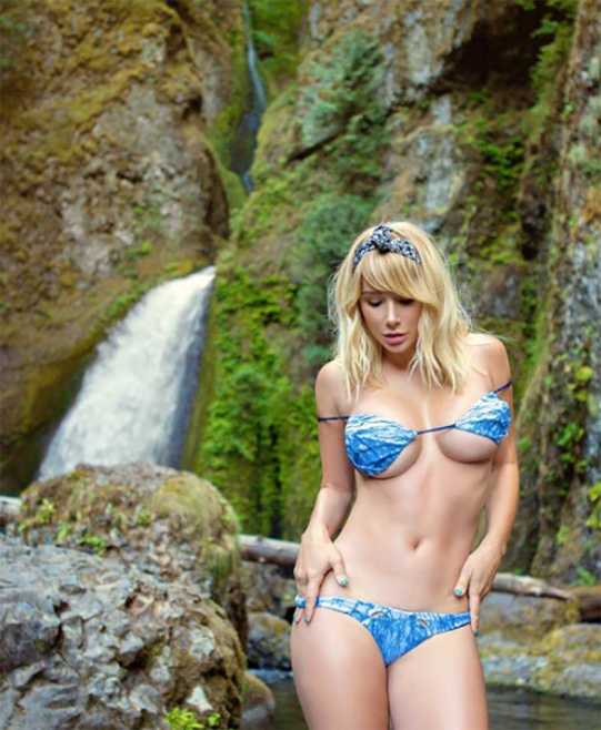 sara jean underwood waterfall