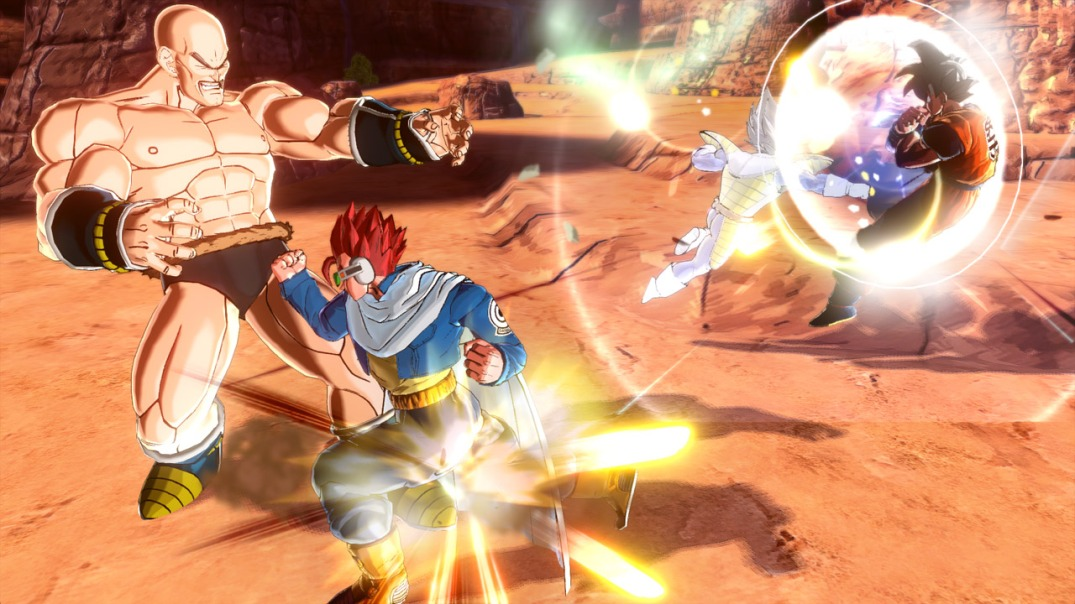 nappa getting punched