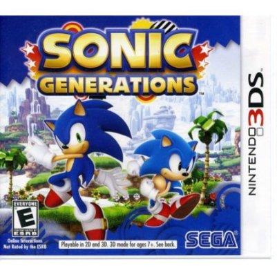 sonic gen 3ds