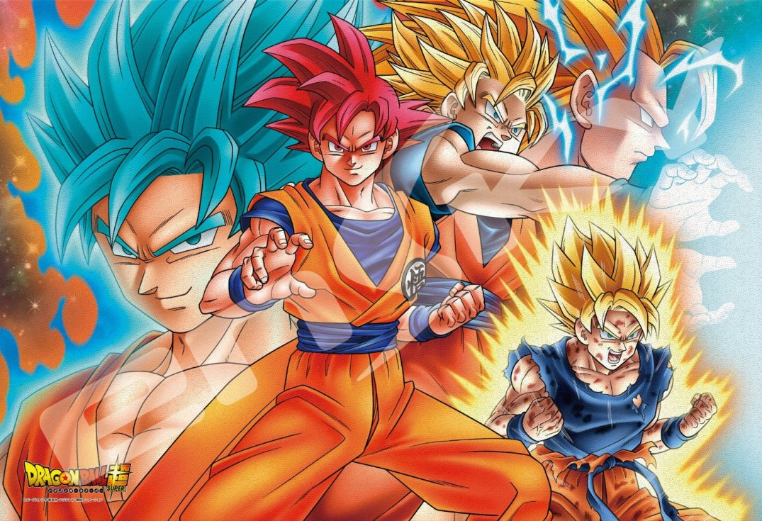 dragon ball super goku transformations