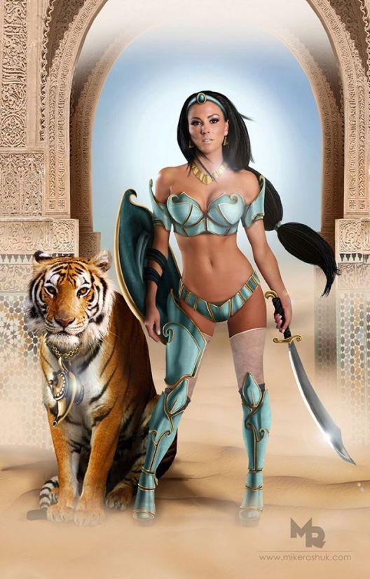 Jasmine Warrior