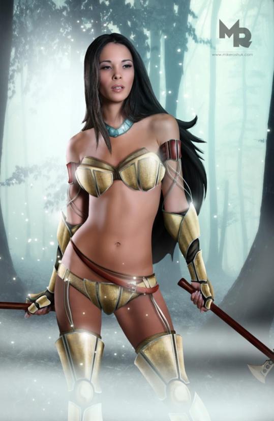 Pocchontas warrior