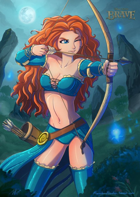merida_by_jeff_mahadi-d84eq9v