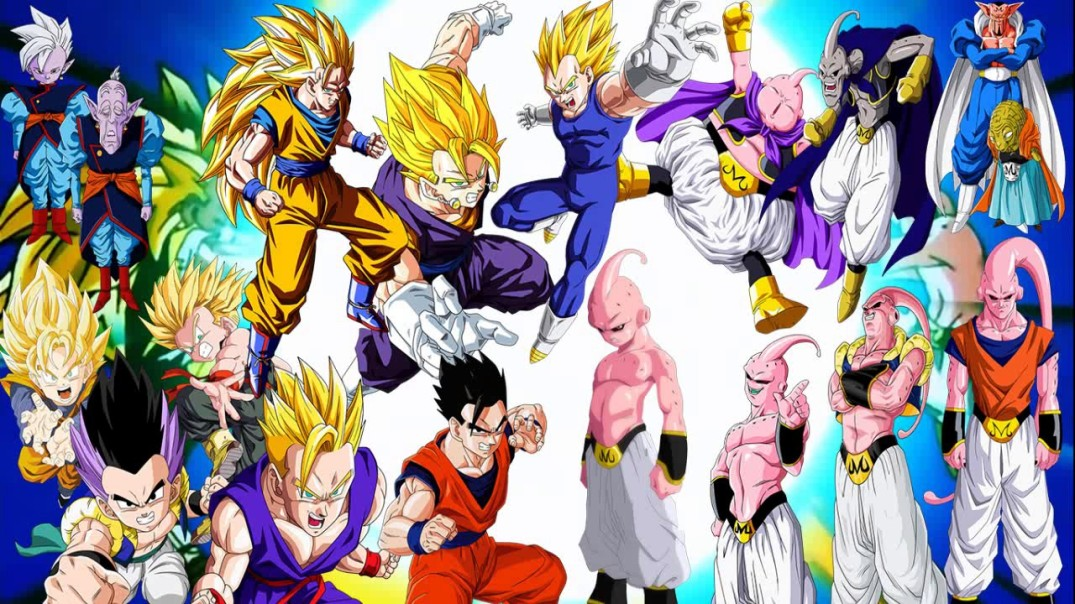dragon ball majin buu saga