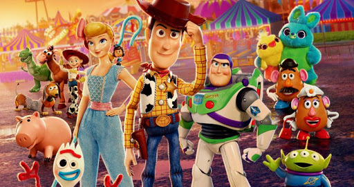 toy story 4 banner