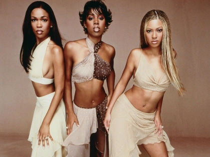 Destiny's Child black and white