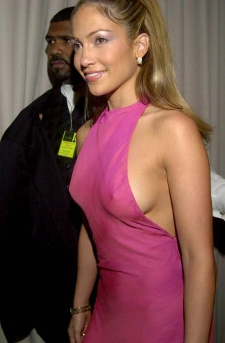 jennifer lopez pink dress