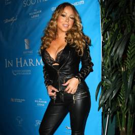mariah carey leather