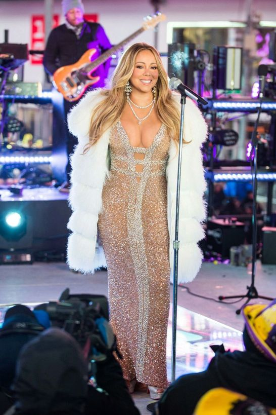 mariah carey new year