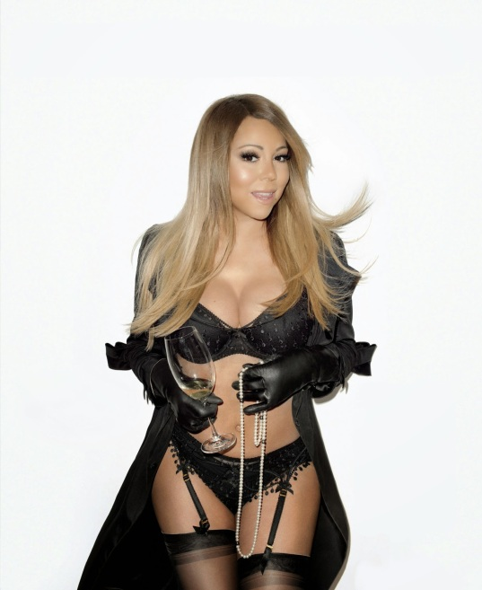 Mariah Carey - Poses In Sexy Lingerie For Terry Richardson 03