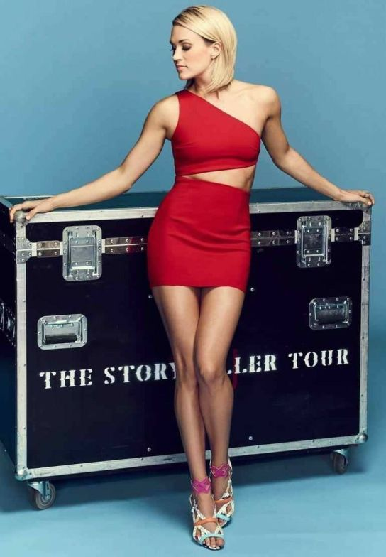 Carrie Underwood trunk