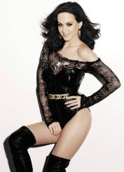 katy perry leather