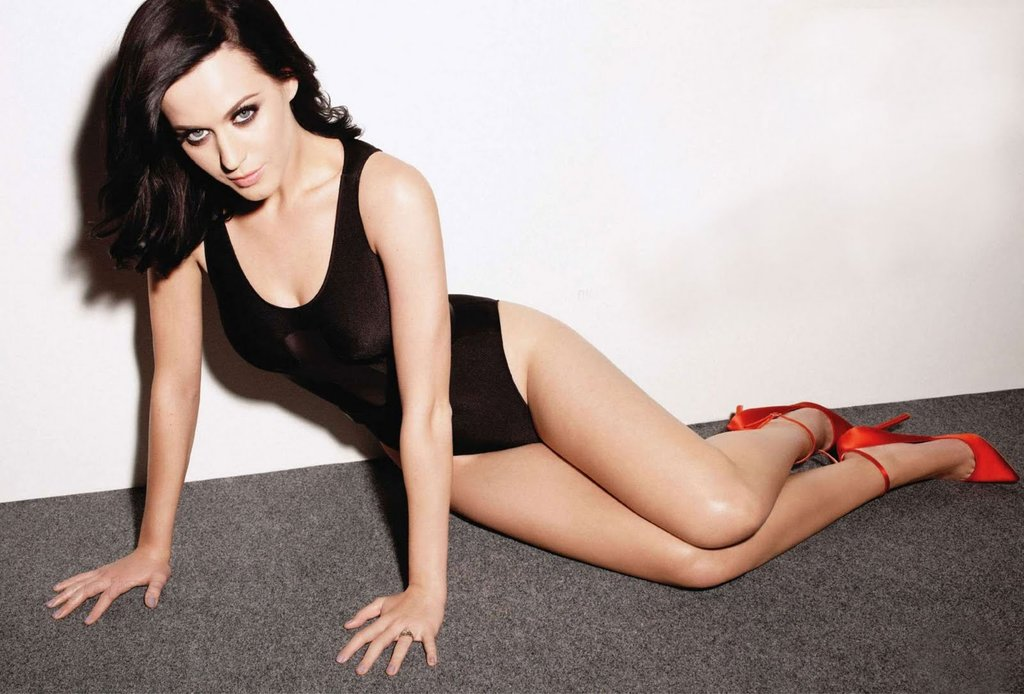 katy perry red heels