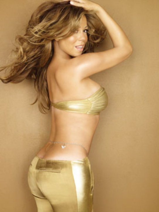 mariah carey gold side