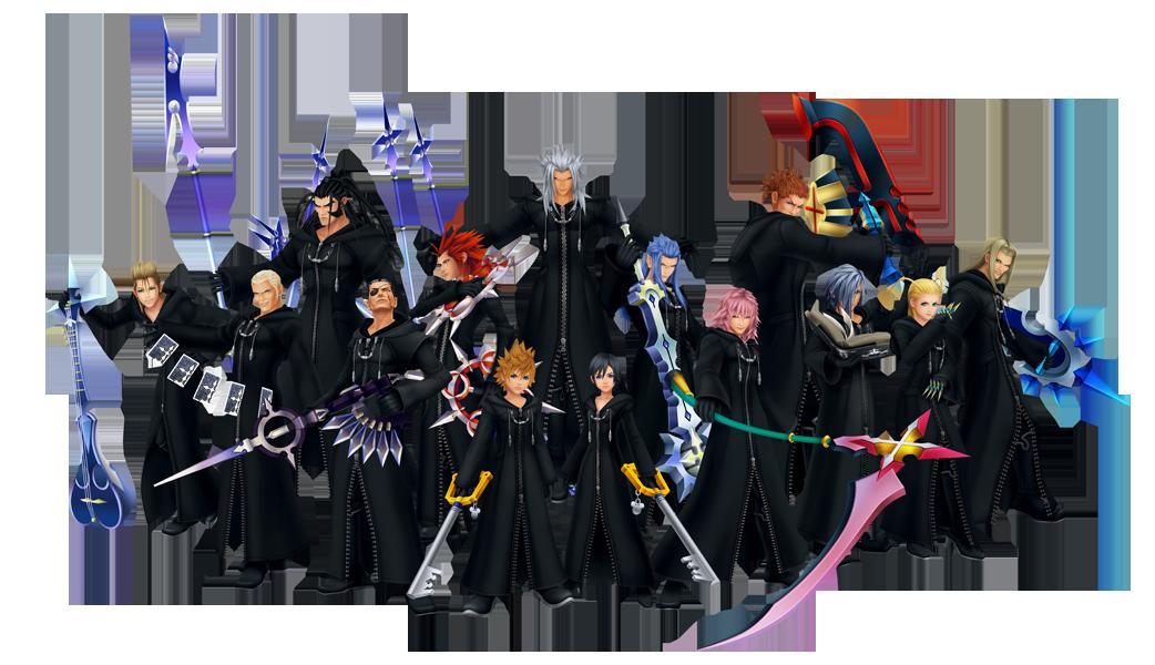 Kingdom Hearts Organisation_XIII