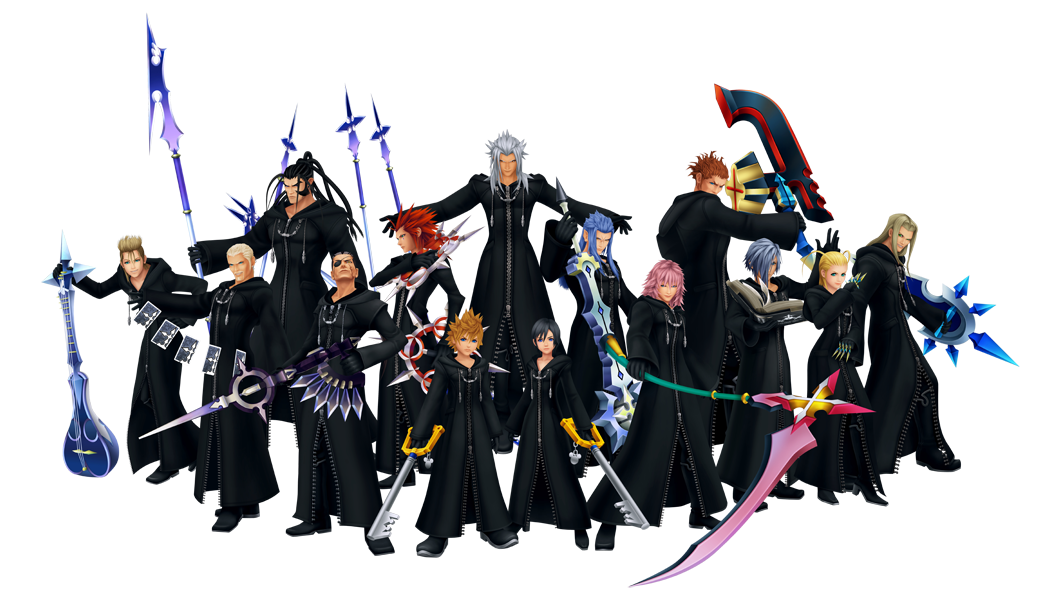 Kingdom Hearts Organisation_XIII
