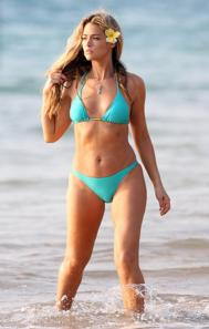 denise richards blue bikini