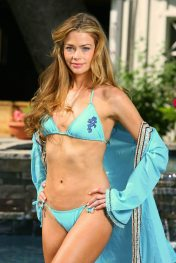 denise richards flower bikini