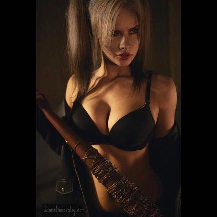 jannet vinogradova harley quinn black
