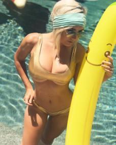 jessica nigri banana bikini