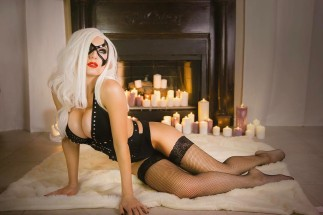 jessica nigri black cat candles