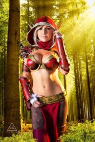 jessica nigri blood elf cosplay 2