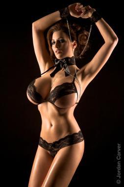 jordan carver lingerie bondage