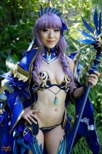 stella chu blue armor staff