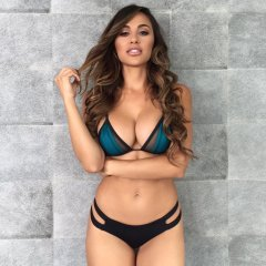 ana cheri nice blue top