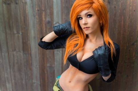 danielle beaulieu kim possible cleavage