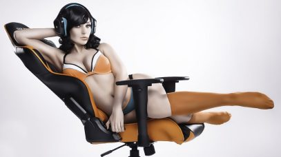 jennifer van damsel orange computer chair 2