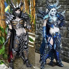 jessica nigri deathwing and sindragosa