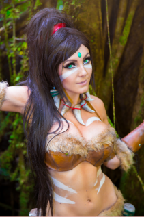 jessica nigri jungle warrior
