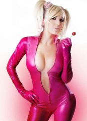 jessica nigri lollipop chainsaw pink