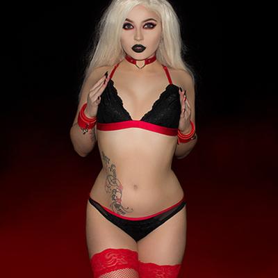 kay victoria dark undies