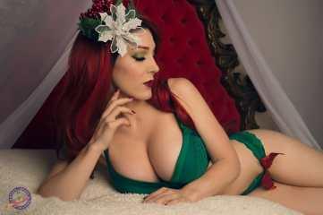 kristen hughey green lingerie