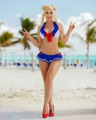 kristen hughey sailor moon bikini