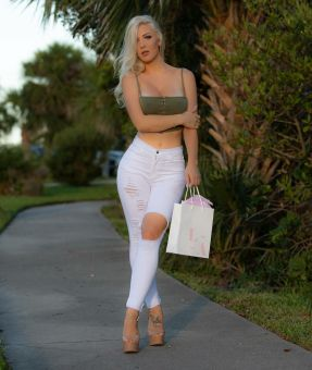 kristen hughey tight white 2