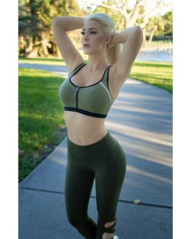 kristen hughey work out